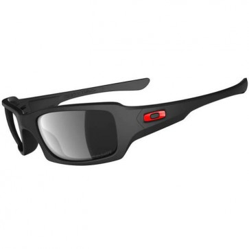 Oakley Fives Squared Ducati Polarized Sunglasses - Matte Black/Black Iridium