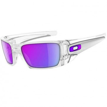 Oakley Fuel Cell Sunglasses - Polished Clear/Matte Clear/Violet Iridium