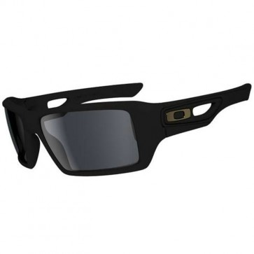 Oakley Eyepatch 2 Shaun White Sunglasses - Matte Black/Grey Polarized
