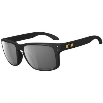 Oakley Holbrook Shaun White Sunglasses - Matte Black/Grey Polarized