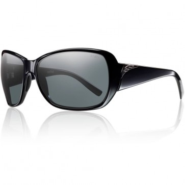 Smith Women's Hemline Polarized Sunglasses - Black/Grey