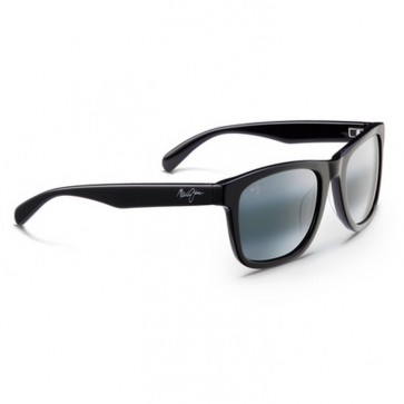 Maui Jim Legends Sunglasses - Gloss Black/Neutral Grey