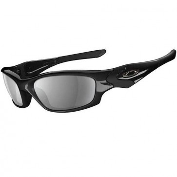 Oakley Straight Jacket Sunglasses - Polished Black/Black Iridium