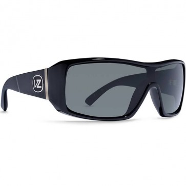 Von Zipper Comsat Sunglasses - Black Satin/Grey