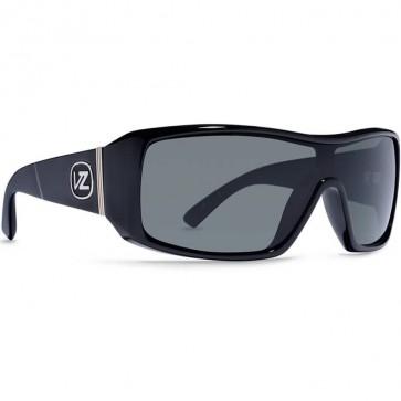 Von Zipper Comsat Sunglasses - Black Satin/Grey