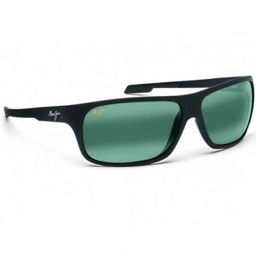 Maui Jim Island Time Sunglasses - Matte Black Rubber/Neutral Grey