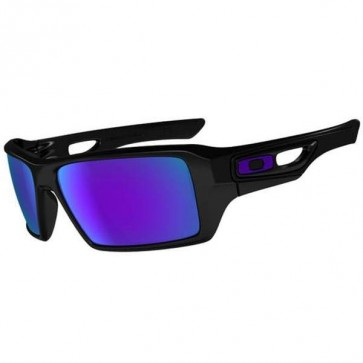 Oakley Eyepatch 2 Sunglasses - Polished Black/Violet Iridium