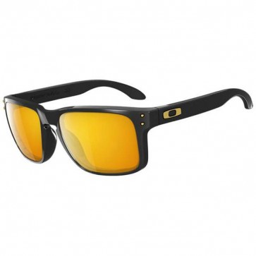 Oakley Holbrook Shaun White Sunglasses - Polished Black/24k Iridium