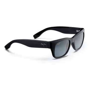 Maui Jim Kahoma Sunglasses - Gloss Black/Neutral Grey