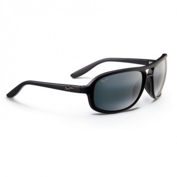 Maui Jim Breakers Sunglasses - Matte Black/Neutral Grey