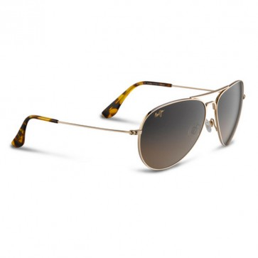 Maui Jim Mavericks Sunglasses - Gold/HCL Bronze
