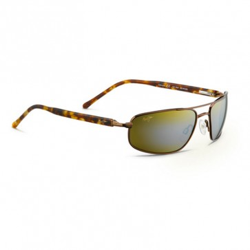 Maui Jim Kahuna Sunglasses - Metallic Gloss Copper/HCL Bronze