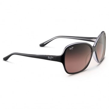 Maui Jim Women's Maile Sunglasses - Black with Crystal/Maui Rose