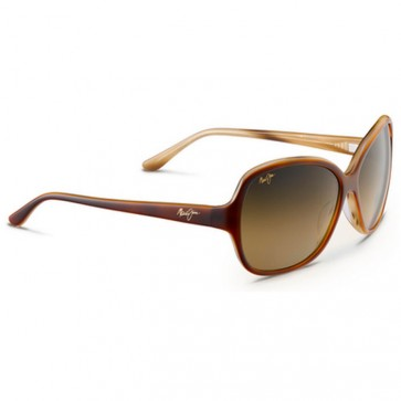 Maui Jim Women's Maile Sunglasses - Tortoise and Ivory Demi/HCL Bronze