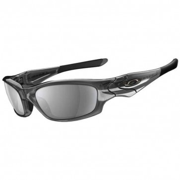 Oakley Straight Jacket Sunglasses - Grey Smoke/Black Iridium