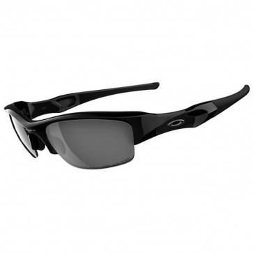 Oakley Flak Jacket Sunglasses - Jet Black/Black Iridium Polarized