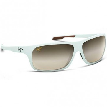 Maui Jim Island Time Sunglasses - Matt White/HCL Bronze