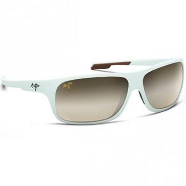 Maui Jim Island Time Sunglasses - Matt White/HCL Bronze