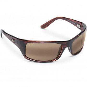 Maui Jim Peahi Sunglasses - Burgundy Tortoise/HCL Bronze