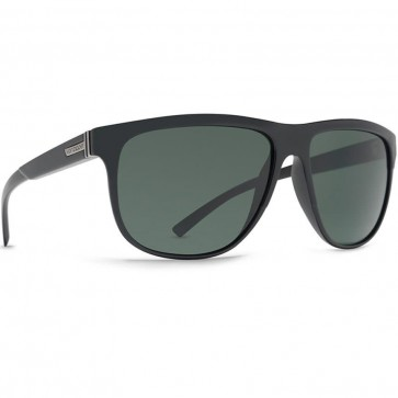 Von Zipper Cletus Sunglasses - Black Smoke Satin/Vintage Grey