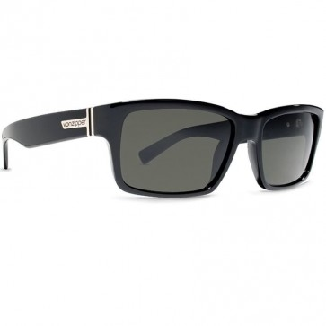 Von Zipper Fulton Sunglasses - Black Gloss/Grey