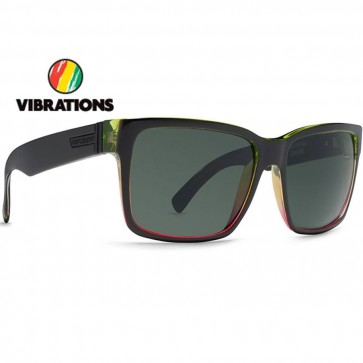 Von Zipper Elmore Vibrations Sunglasses - Black Gloss/Grey