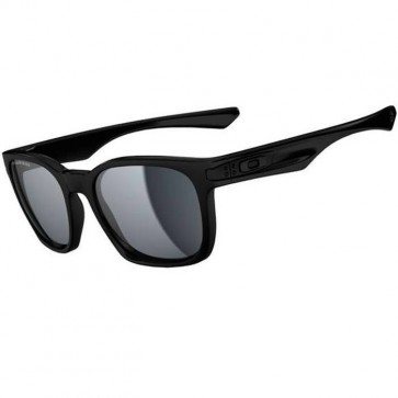 Oakley Garage Rock Polarized Sunglasses - Polished Black/Grey