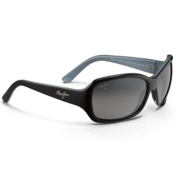 Maui Jim Pearl City Sunglasses - Black/Blue/Natural Grey