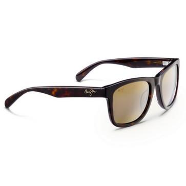 Maui Jim Legends Sunglasses - Dark Tortoise/HCL Bronze