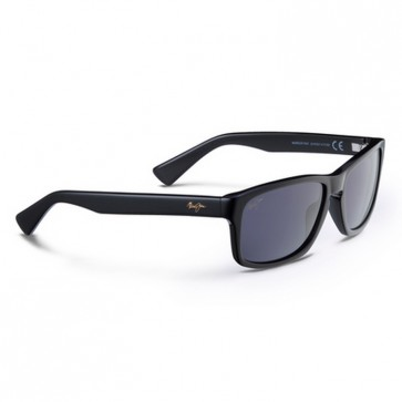 Maui Jim McGregor Point Sunglasses - Gloss Black/Neutral Grey