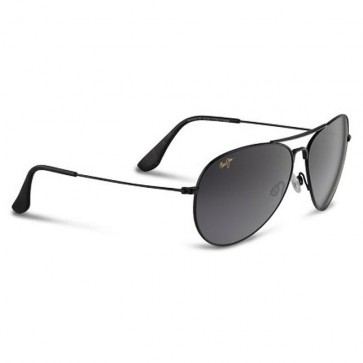 Maui Jim Mavericks Sunglasses - Gloss Black/Neutral Grey