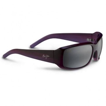 Maui Jim Blue Water Sunglasses - Purple Stripe/Neutral Grey