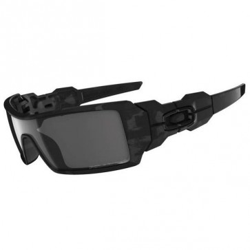 Oakley Oil Rig Sunglasses - Shadow/Camo Grey Polarized