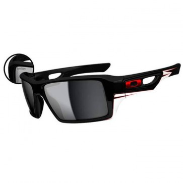 Oakley Eyepatch ll Troy Lee Designs Sunglasses - Polished Black/Black Iridium