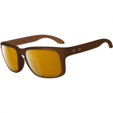 Oakley Holbrook Polarized Sunglasses - Matte Rootbeer/Bronze