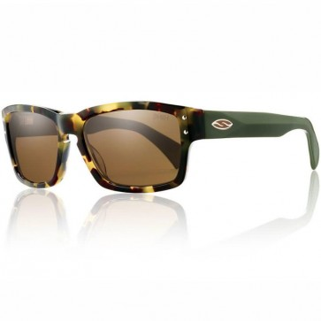 Smith Chemist Polarized Sunglasses - Tortoise Army/Brown