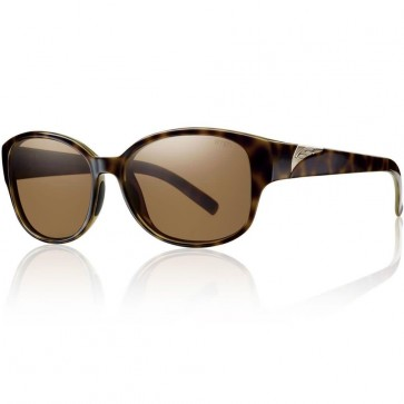 Smith Women's Lyric Polarized Sunglasses - Tortoise/Brown