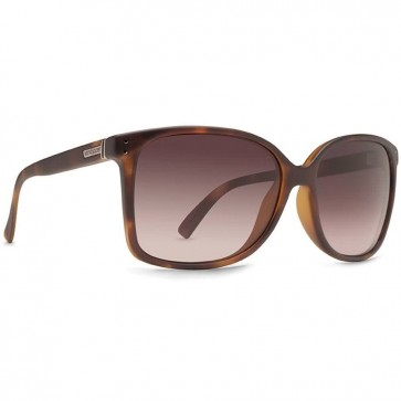 Von Zipper Women's Castaway Sunglasses - Tortoise Satin/Gradient