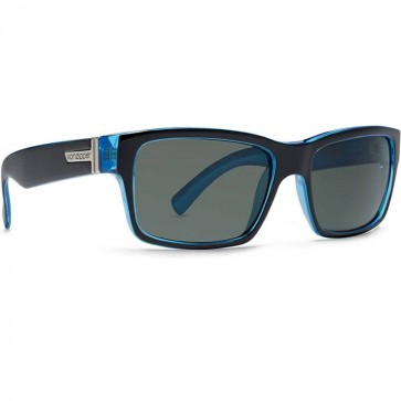 Von Zipper Fulton Sunglasses - Black Blue/Grey
