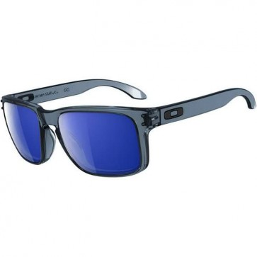 Oakley Holbrook Sunglasses - Crystal Black/Ice Iridium