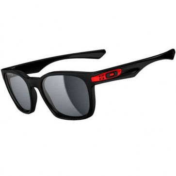 Oakley Garage Rock Ducati Sunglasses - Polished Black/Grey