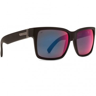 Von Zipper Elmore Polarized Sunglasses - Black Satin/Galactic Glo
