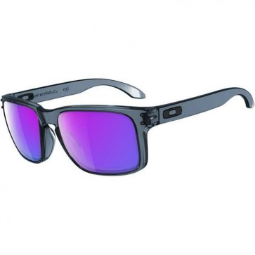 Oakley Holbrook Sunglasses - Crystal Black/Violet Iridium