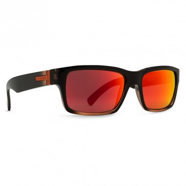 Von Zipper Fulton MindGlo Sunglasses - MindGlo Orange/Lunar Glo