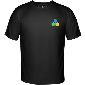 Channel Islands Curren GYB Hex T-Shirt - Black