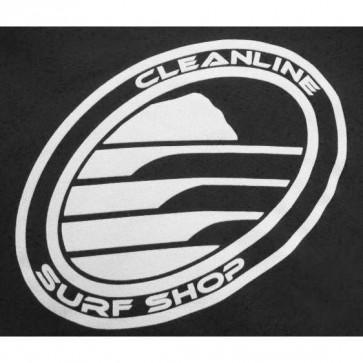 Cleanline Corp Logo/Big Rock Tank - Black/White