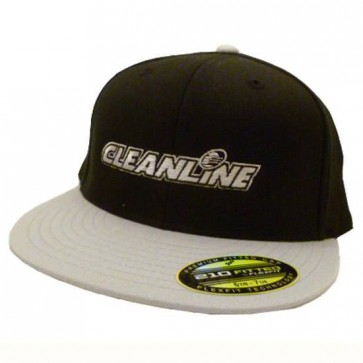 Cleanline Embroidered Corp Logo Hat - Black/Grey