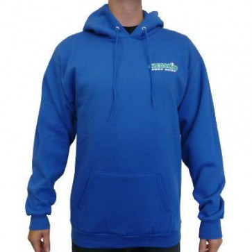 Cleanline Retro Pullover Hoodie - Royal