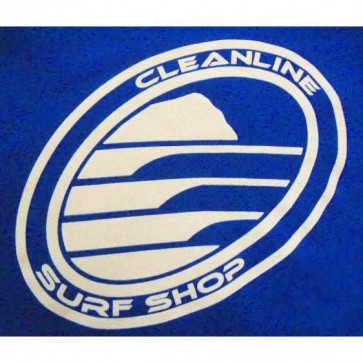 Cleanline Corl Logo/Big Rock Tank - Royal/White