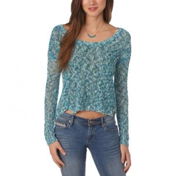 Roxy Women's Harwell Sweater - Baltic Blue